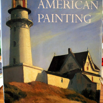 American Painting by Donald Goddard.  Copyright 1990.  Extra Large American Painting Art Book.