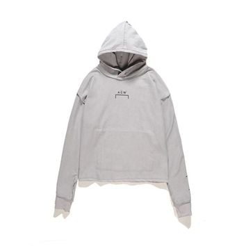 Men's Hoodies & Sweatshirts A COLD WALL B Hoodie High Street Tide Men Loose anwear OVERSIZE Drop Shoulder Hooded Letter Printing Sweater
