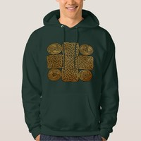 Celtic Knotwork Cross Hoodie
