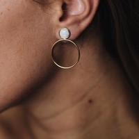 Layla Opal Earrings