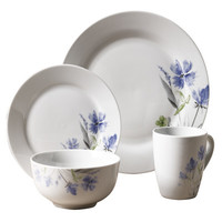 Tabletops Gallery Wildflower 16 Piece Dinnerware Set & Reviews | Wayfair