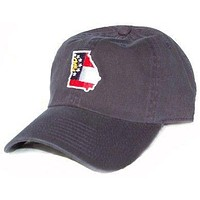 GA Traditional Hat in Navy by State Traditions