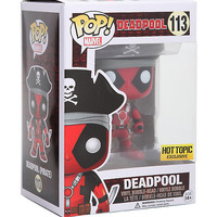 Funko Marvel Pop! Deadpool Pirate Vinyl Bobble-Head Hot Topic Exclusive