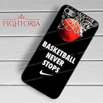 Basketball never stop air jordan nike - zZzA for iPhone 4/4S/5/5S/5C/6/6+s,Samsung S3