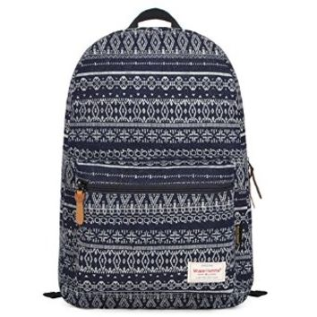 EcoCity Unisex Bohemia Style Fashion Travel School Laptop Backpack Bookbags