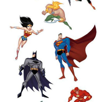 Justice League Fathead Set
