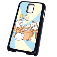 Pusheen The Cat Emoticon FOR SAMSUNG GALAXY S5 CASE**AP*