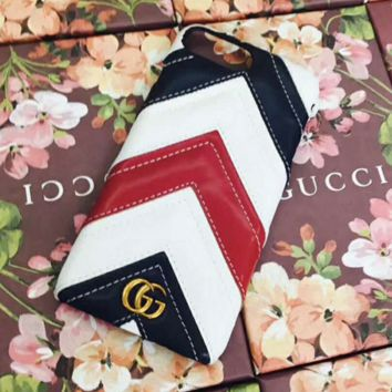 Gucci 2017 Hot ! iPhone 7 iPhone 7 plus - Stylish Stripe On Sale Hot Deal Matte Couple Phone Case For iphone 6 6s 6plus 6s plus