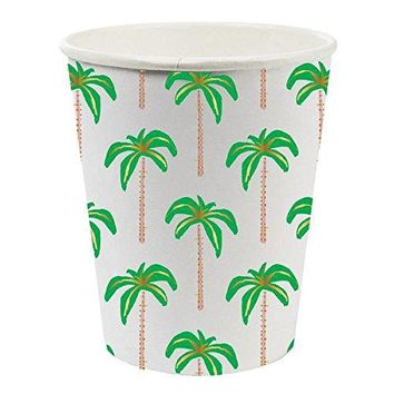 Palm Tree Paper Cups