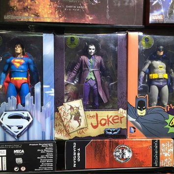 Batman Dark Knight gift Christmas Superman Vs. Batman Joker 1/8 scale painted PVC Action Figure Collectible Model Toy 18cm KT2187 AT_71_6