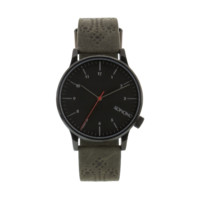 Komono - Winston Brogue Charcoal Watch