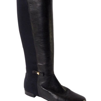 Kate Spade New York Olivia Nappa Leather and Elastic Boots