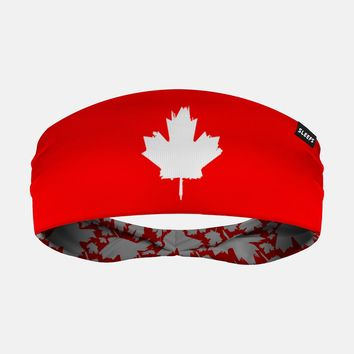 Canada Maple Leaf Red Headband