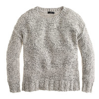 J.Crew Womens Marled Drop-Shoulder Sweater