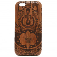 Custom Hamsa iPhone case - Wooden iPhone Case - Arabic iPhone Case