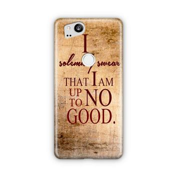 Harry Potter Quote   I Solemnly Swear That I Am Up To No Good Google Pixel 3 XL Case | Casefantasy