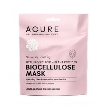 Acure Mask - Biocellulose - Seriously Soothing - 1 Mask