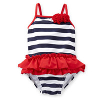 4th Of July 2-Piece Swimsuit & Cover Up Set
