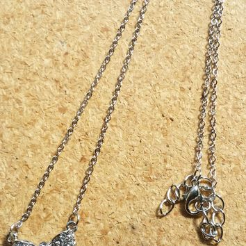 Shine and Tie Necklace