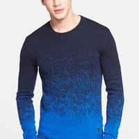 Men's Versace Collection Ombre Wool Sweater,