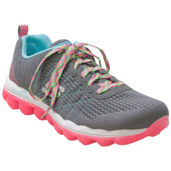 Skechers SkechAir Style Fix Charcoal Coral Charcoal Sneaker