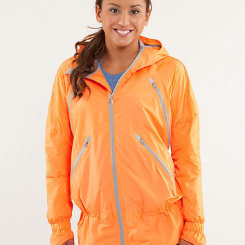 run: make it rain jacket | lululemon athletica