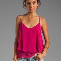 Backstage Modern Love Top in Magenta from REVOLVEclothing.com