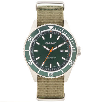 Seabrook Military Watch - Green