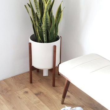 Best Mid Century Modern Planters Products on Wanelo Wooden Planters Hull on hull stoneware, hull lights, hull brown drip rare pieces, hull plates, hull candle holders, hull flower pots,
