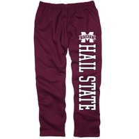 Mens Mississippi State Bulldogs Maroon Back Home Sweatpants