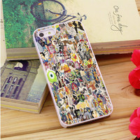 Disney Collage Art iPhone 5|5S|5C Case Auroid