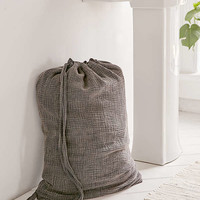 Crinkle Gauze Laundry Bag | Urban Outfitters
