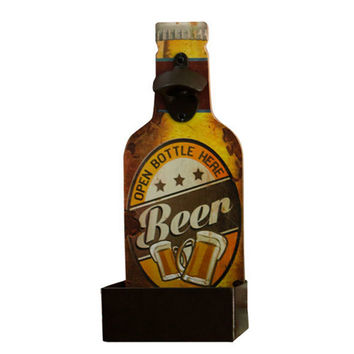 America Loft Beer Bottle Opener Wall Hanging Decoration   4