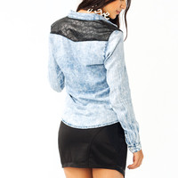 A-Little-Edgy-Chambray-Shirt LTBLUE - GoJane.com
