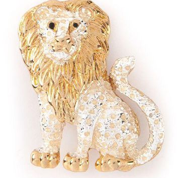 ONETOW Katheleys Vintage unique lion brooch