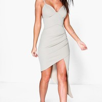 Sarah Detail Strappy Bodycon Dress