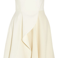 Stella McCartney - Marcy stretch-wool and wool-blend crepe mini dress