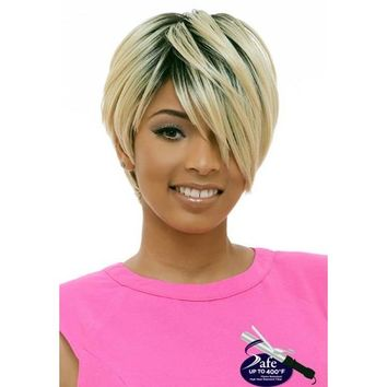 SHORT STRAIGHT WIG , Twinkle Palm  (TP001)