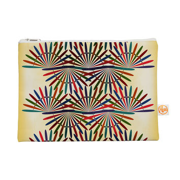 """Famenxt """"Colorful Abstract Pattern"""" Yellow Multicolor Everything Bag"""