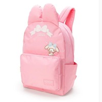 2017 news cartoon Genuine my melody and hello kiitty women backpack High quality PU pink school bags High capacity for girls
