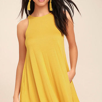 Tupelo Honey Yellow Dress