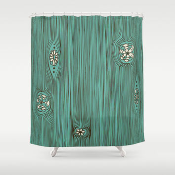 Woodlands Shower Curtain by Heather Dutton | Society6