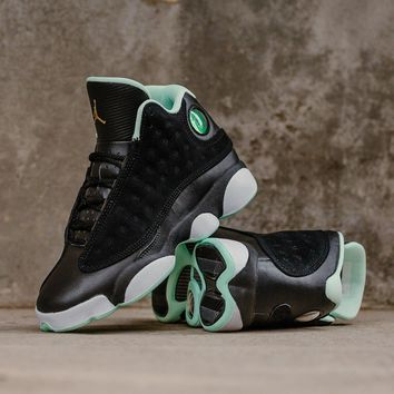 super popular 373e5 ee9fb  Free Shipping  Air Jordan 13 Retro GS  Mint Foam  439358-015 Ba