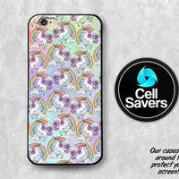 Unicorn Pastel iPhone 6s Case iPhone 6 Case iPhone 6 Plus iPhone 6s + iPhone 5c iPhone 5 iPhone SE Rainbow Pastel Unicorn Horse Pattern Cute