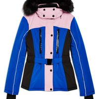 Topshop SNO Colorblock Fitted Jacket | Nordstrom