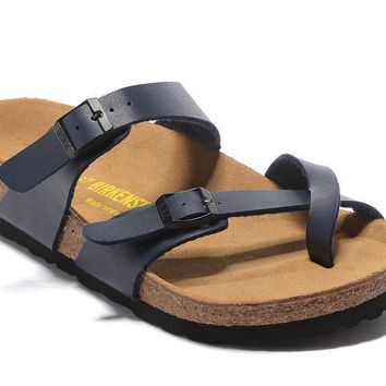 Newest Hot Sale Mayari Birkenstock Summer Fashion Leather Beach Lovers Slippers Casual