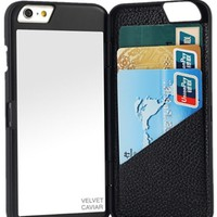 Hello Gorgeous Black Mirror iPhone Case Wallet