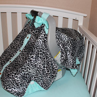 Snow Leopard Canopy Carrier Cover