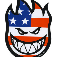 Spitfire Flaghead Sticker Red/White/Blue One Size For Men 27599594801
