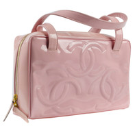 Chanel Pink Patent Tote